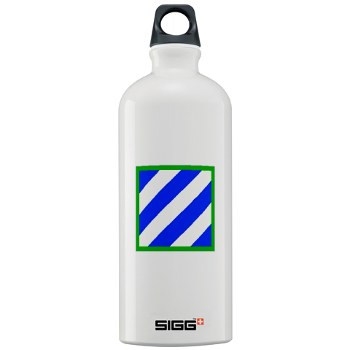 03ID - M01 - 03 - SSI - 3rd Infantry Division Sigg Water Bottle 1.0L