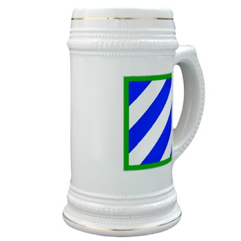 03ID - M01 - 03 - SSI - 3rd Infantry Division Stein