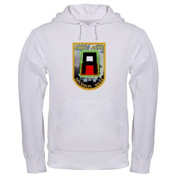 01AW - A01 - 03 - SSI - First Army Division West Hooded Sweatshirt