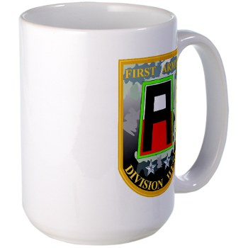 01AW - M01 - 03 - SSI - First Army Division West Large Mug