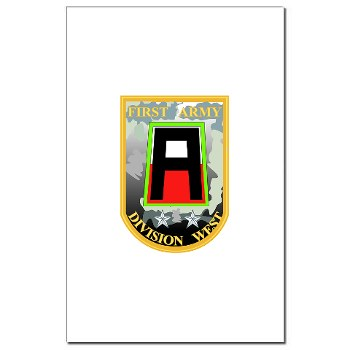 01AW - M01 - 02 - SSI - First Army Division West Mini Poster Print