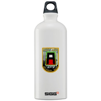 01AW - M01 - 03 - SSI - First Army Division West Sigg Water Bottle 1.0L