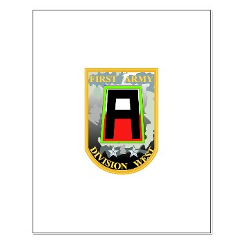 01AW - M01 - 02 - SSI - First Army Division West Small Poster