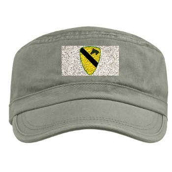 1CAV - A01 - 01 - SSI - 1st Cavalry Division Military Cap