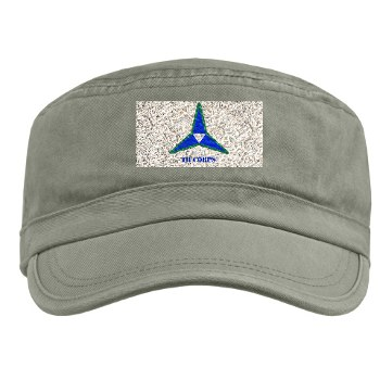 IIICorps - A01 - 01 - SSI - III Corps with Text Military Cap