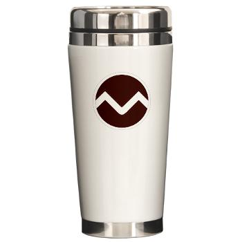 missouristate - M01 - 03 - SSI - ROTC - Missouri State University - Ceramic Travel Mug