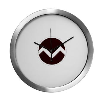missouristate - M01 - 03 - SSI - ROTC - Missouri State University - Modern Wall Clock