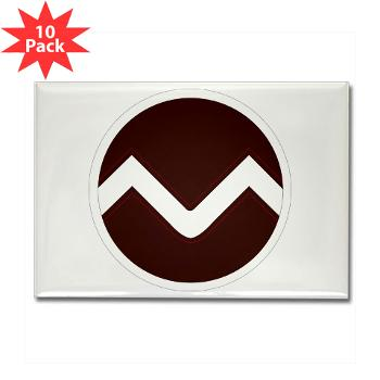 missouristate - M01 - 01 - SSI - ROTC - Missouri State University - Rectangle Magnet (10 pack)