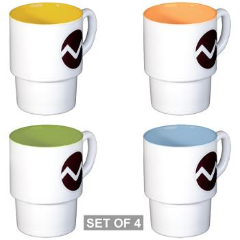 missouristate - M01 - 03 - SSI - ROTC - Missouri State University - Stackable Mug Set (4 mugs)