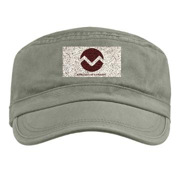 missouristate - A01 - 01 - SSI - ROTC - Missouri State University with Text - Military Cap