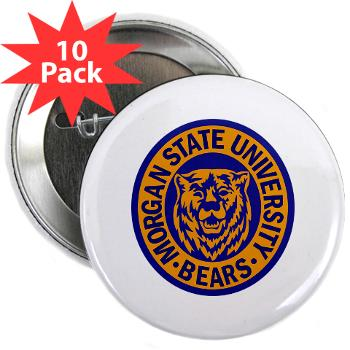 "morgan - M01 - 01 - SSI - ROTC - Morgan State University - 2.25"" Button (10 pack)"