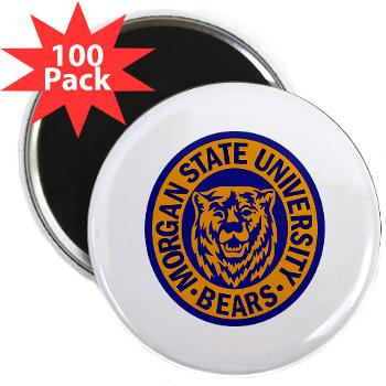 "morgan - M01 - 01 - SSI - ROTC - Morgan State University - 2.25"" Magnet (100 pack)"