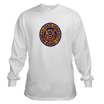 morgan - A01 - 03 - SSI - ROTC - Morgan State University - Long Sleeve T-Shirt