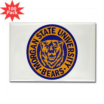 morgan - M01 - 01 - SSI - ROTC - Morgan State University - Rectangle Magnet (100 pack)
