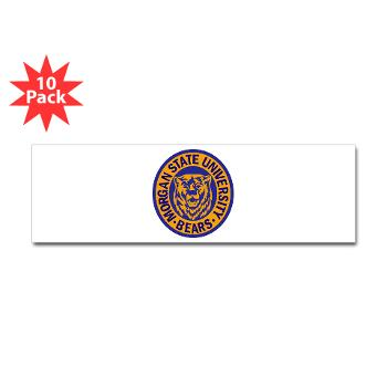morgan - M01 - 01 - SSI - ROTC - Morgan State University - Sticker (Bumper 10 pk)