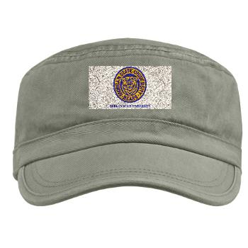 morgan - A01 - 01 - SSI - ROTC - Morgan State University with Text - Military Cap