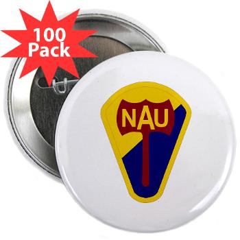 "nau - M01 - 01 - SSI - ROTC - Northern Arizona University - 2.25"" Button (100 pack)"