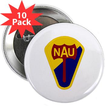 "nau - M01 - 01 - SSI - ROTC - Northern Arizona University - 2.25"" Button (10 pack)"