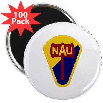 "nau - M01 - 01 - SSI - ROTC - Northern Arizona University - 2.25"" Magnet (100 pack)"
