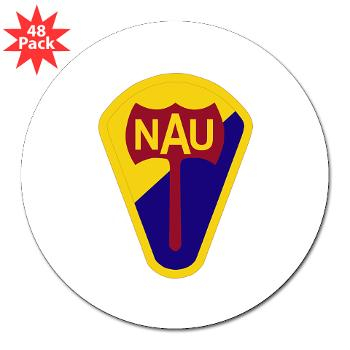 "nau - M01 - 01 - SSI - ROTC - Northern Arizona University - 3"" Lapel Sticker (48 pk)"
