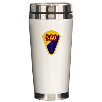 nau - M01 - 03 - SSI - ROTC - Northern Arizona University - Ceramic Travel Mug