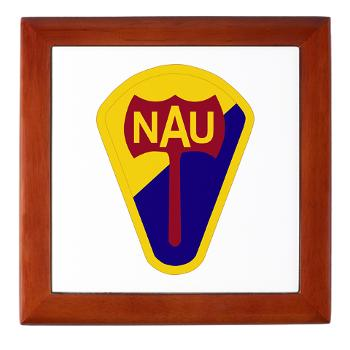 nau - M01 - 03 - SSI - ROTC - Northern Arizona University - Keepsake Box