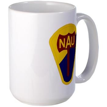 nau - M01 - 03 - SSI - ROTC - Northern Arizona University - Large Mug