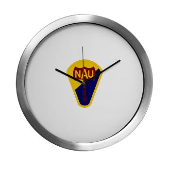 nau - M01 - 03 - SSI - ROTC - Northern Arizona University - Modern Wall Clock
