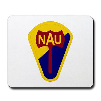 nau - M01 - 03 - SSI - ROTC - Northern Arizona University - Mousepad