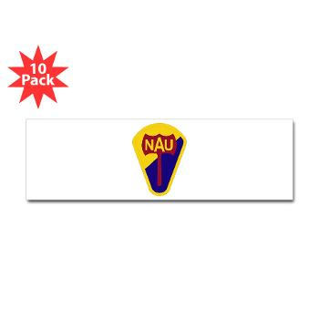 nau - M01 - 01 - SSI - ROTC - Northern Arizona University - Sticker (Bumper 10 pk)