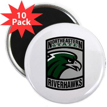 "nsuok - M01 - 01 - SSI - ROTC - Northeastern State University - 2.25"" Magnet (10 pack)"