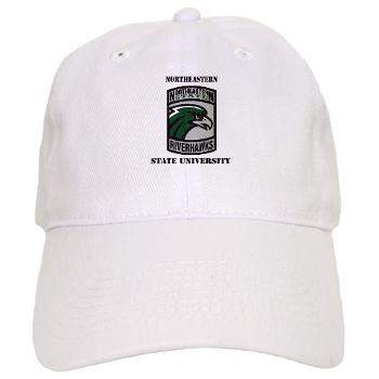 nsuok - A01 - 01 - SSI - ROTC - Northeastern State University with Text - Cap