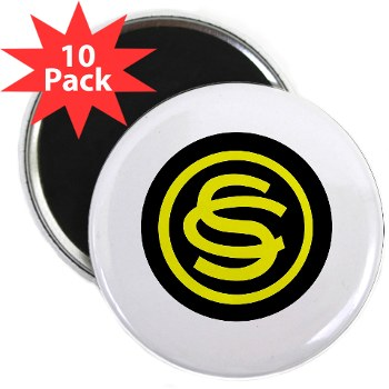 "ocs - M01 - 01 - DUI - Officer Candidate School 2.25"" Magnet (10 pack)"