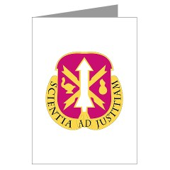 omems - M01 - 02 - DUI - Ordnance Munitions and Electronics Maintenance School - Greeting Cards (Pk of 20)
