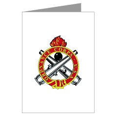 omms - M01 - 02 - DUI - Ordnance Mechanical Maintenance School - Greeting Cards (Pk of 20)