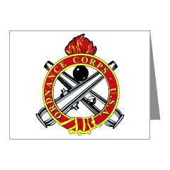 omms - M01 - 02 - DUI - Ordnance Mechanical Maintenance School - Note Cards (Pk of 20)