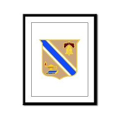 quartermaster - M01 - 02 - DUI - Quartermaster Center/School Framed Panel Print
