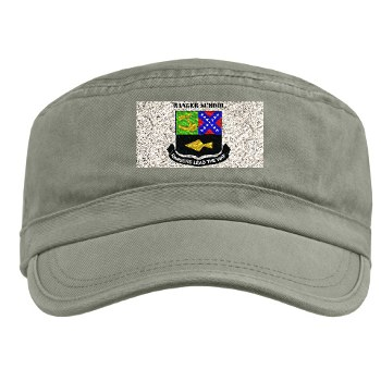 rangerschool - A01 - 01 - DUI - Ranger School with Text - Military Cap