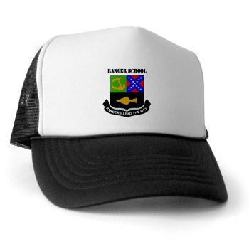 rangerschool - A01 - 02 - DUI - Ranger School with Text - Trucker Hat
