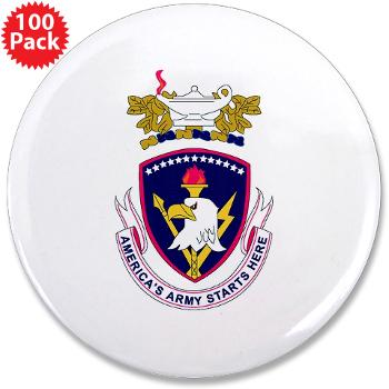 "rrs - M01 - 01 - DUI - Recruiting and Retention School 3.5"" Button (100 pack)"