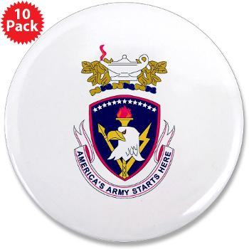 "rrs - M01 - 01 - DUI - Recruiting and Retention School 3.5"" Button (10 pack)"