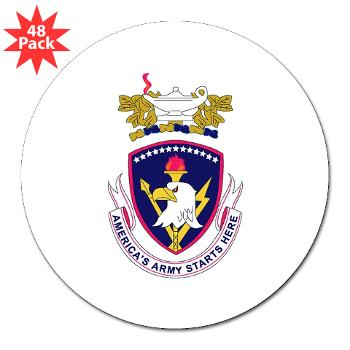 "rrs - M01 - 01 - DUI - Recruiting and Retention School 3"" Lapel Sticker (48 pk)"