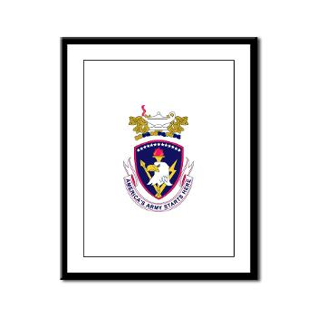 rrs - M01 - 02 - DUI - Recruiting and Retention School Framed Panel Print