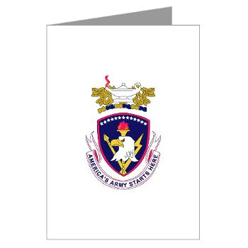 rrs - M01 - 02 - DUI - Recruiting and Retention School Greeting Cards (Pk of 10)