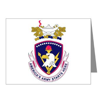 rrs - M01 - 02 - DUI - Recruiting and Retention School Note Cards (Pk of 20)