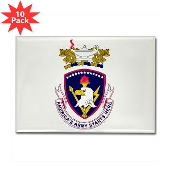 rrs - M01 - 01 - DUI - Recruiting and Retention School Rectangle Magnet (10 pack)