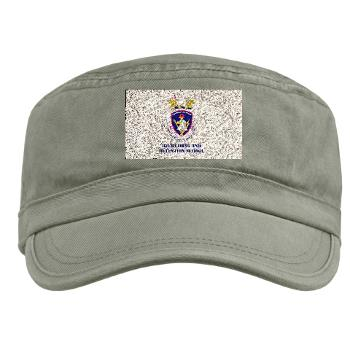 rrs - A01 - 01 - DUI - Recruiting and Retention School with Text Military Cap