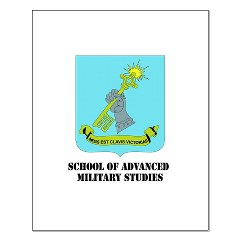 sams - M01 - 02 - DUI - School of Advanced Military Studies Small Poster
