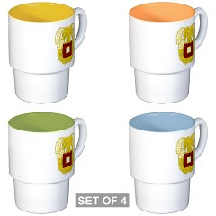 sit - M01 - 03 - DUI - School of Information Technology - Stackable Mug Set (4 mugs)