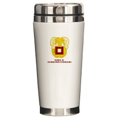 sit - M01 - 03 - DUI - School of Information Technology with Text Ceramic Travel Mug